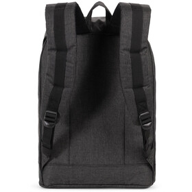 Herschel Retreat Mochila 19,5l, black crosshatch/black